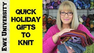 Quick Holiday Gifts To Knit