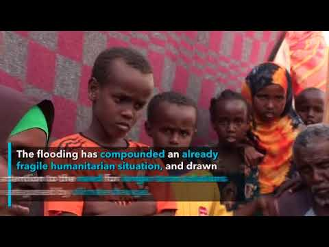 Somali government and UN appeal for $80 million for people affected by floods in Somalia