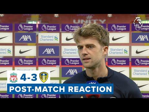 Post-match reaction | Patrick Bamford | Liverpool 4-3 Leeds United | Premier League