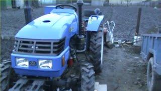 Замена масла трактор ДОНГ ФЕНГ 244