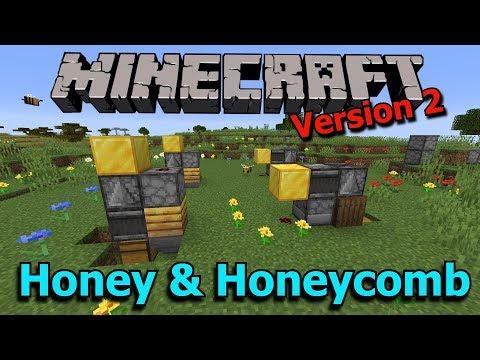 Minecraft Honey And Honeycomb Farms V2 1 15 Ready Youtube
