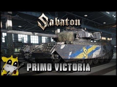 World of Tanks - Live: Primo Victoria - der Sabaton Tank [ deutsch 🐄 gameplay ]