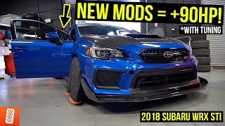 Building the ULTIMATE 2018 Subaru WRX STI - Part 3 (Deatschwerks Fuel Pump + DYNO PREP)