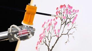 7Bot Desktop Robot Arm -- painting