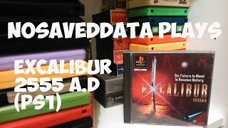 More obscure games: Excalibur 2555 A.D PS1 gameplay and intro