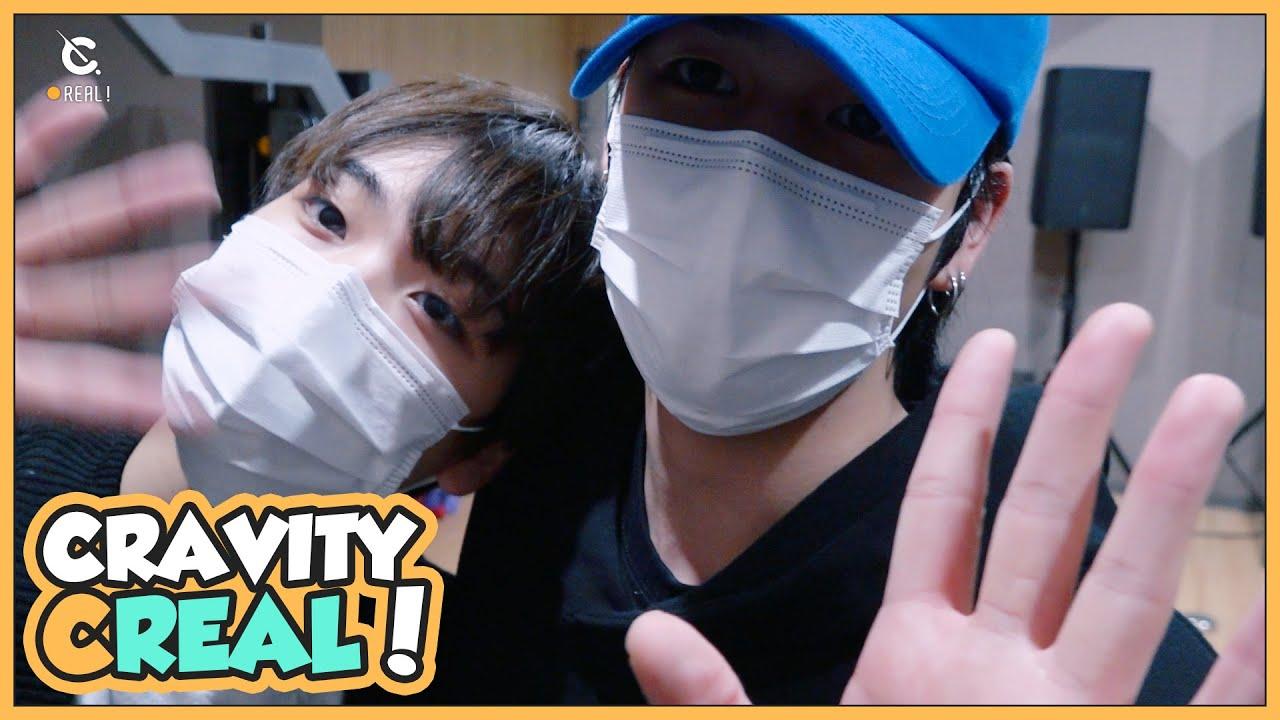 [C-Real] SR&HJ aim to win the 'CRAVITY PARK Talent Show' (세림&형준이의 비티파크 장기자랑 연습) l CRAVITY (크래비티)