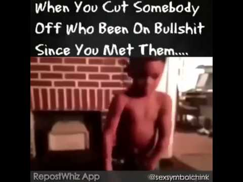 what does it mean to cut someone off