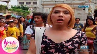 Repeat youtube video Yan ang Morning!: Talbugan sa Quiapo nina Boobay at Donita Nose
