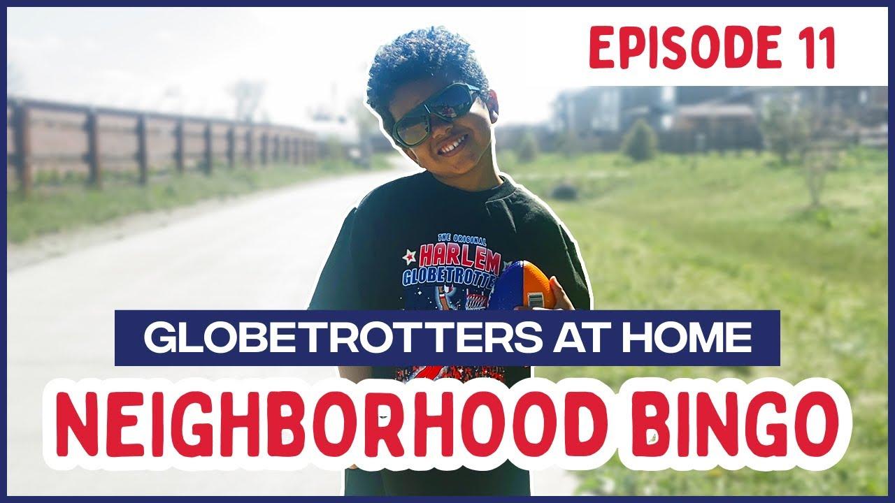 Harlem Globetrotters Neighborhood Bingo