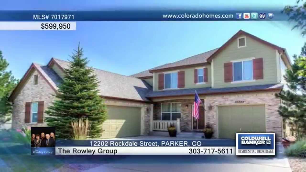 12202 rockdale street parker co homes for sale