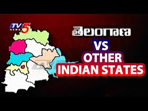 Population Compared to No. of Districts in Telangana and Other States | TV5 News