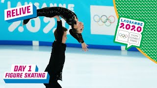 RELIVE - Figure Skating - Pairs Short Program - Day 1 | Lausanne 2020