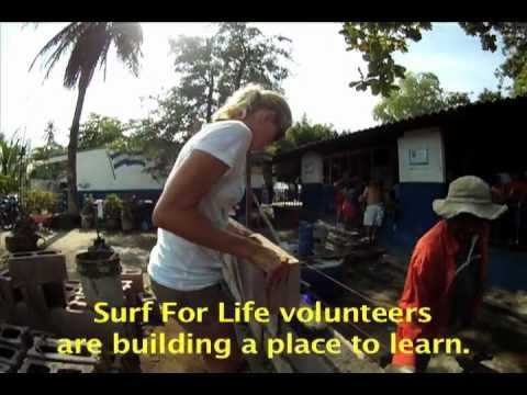 Building a High School in El Salvador with Surf For Life