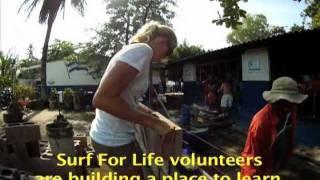 Building a High School in El Salvador with Surf For Life