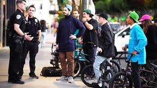 POLICE vs BMX