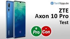 ZTE AXON 10 PRO | Test deutsch