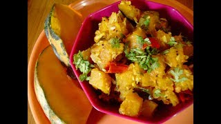 Mummy's Cooking - Yellow Pumpkin Curry in Tamil