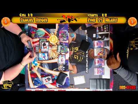 PPG Bandai Cross Worlds SUPER Release Round 1 Eddie St Hilaire v Samuel Rieger