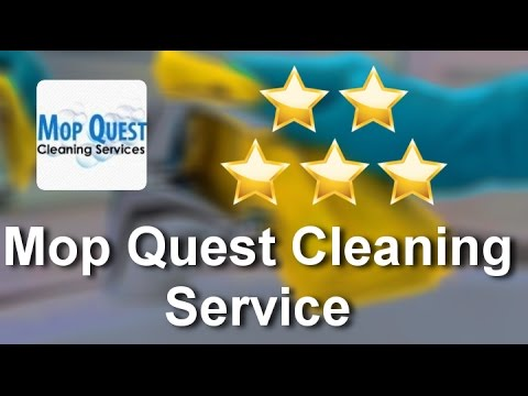 Mop Quest Cleaning Service Lake Hiawatha Remarkable 5 Star Review by Ali M.