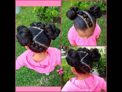 Natural Hairstyles for Kids : Beautiful Hairstyle for Your Baby - YouTube