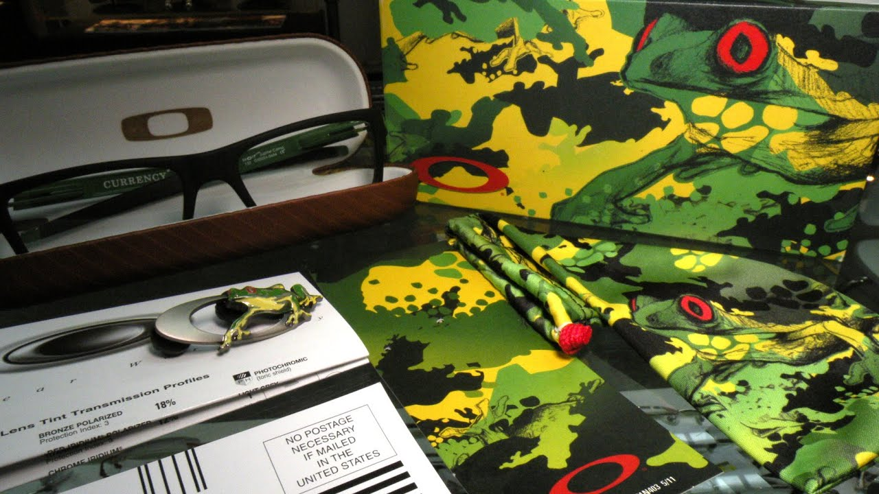 ffd36c479c4 Oakley Currency Jupiter Camo Limited Edition 眼鏡- YouTube