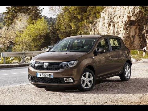 dacia sandero 1 0 laureate 2017 youtube. Black Bedroom Furniture Sets. Home Design Ideas