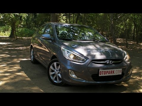 TEST  Hyundai Accent Blue  YouTube