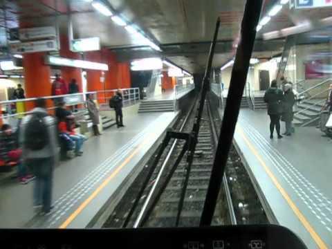 Comparison of Brussels Metro & Tram