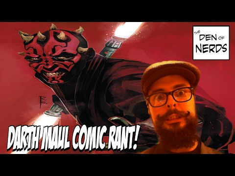 My Darth Maul Comic Book Rant! Marvel Does it AGAIN and I've About Had It! DON'T BUY THIS BOOK!! - 동영상