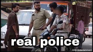 Police Traffic Challans PRANK 8 | ANS Entertainment |Prank in INDIA| prank gone wrong by real police