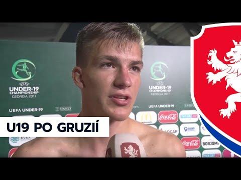ME U19: Z české kabiny po vítězství nad Gruzií (8. 7. 2017)