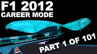 F1 2012: Career Mode Walkthrough (1/101) - Young Drivers' Test - HD