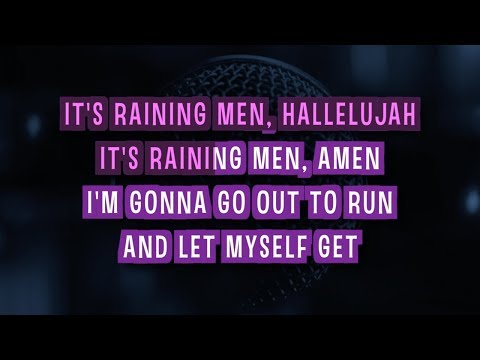 It's Raining Men Karaoke Version by Geri Halliwell