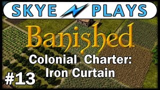banished colonial charter part 13 the quest for bricks gameplay tips