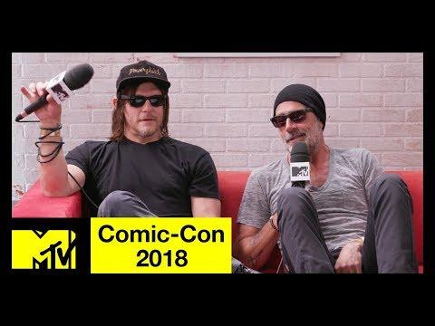 'The Walking Dead' Cast on Season 9 & Jeffrey Dean Morgan Talks 'Flashpoint'  ComicCon 2018  MTV