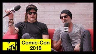 'The Walking Dead' Cast on Season 9 & Jeffrey Dean Morgan Talks 'Flashpoint'   Comic-Con 2018   MTV