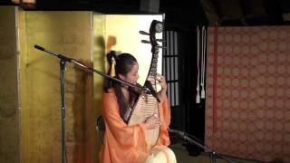 中国琵琶演奏会 in 雲竜荘 ting ting