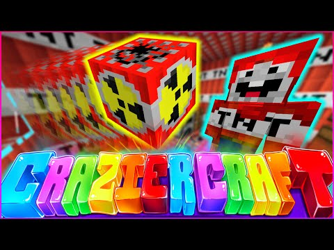 "Minecraft CRAZIER CRAFT SMP - ""BLOWING UP EXPLODINGTNT"