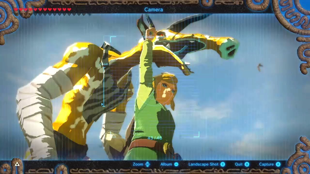 The Legend of Zelda: Breath of the Wild- Gold bokoblin glitches + Moblins