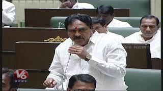 Errabelli Dayakar Speech About Speaker Pocharam | Telangana Assembly 2019 | V6 News
