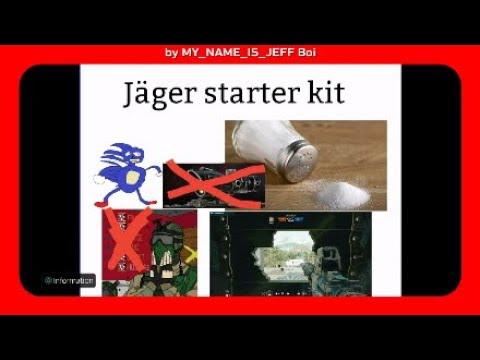 Jager Starter Kit Meme By My Name Is Jeff Boi Youtube
