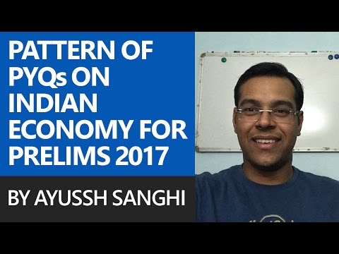Pattern of Previous Year Questions on Indian Economy for Pre