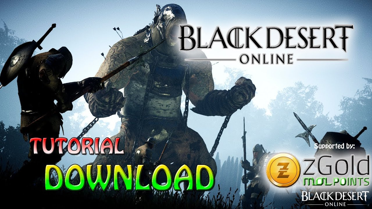 CARA DOWNLOAD BLACK DESERT ONLINE SEA !!