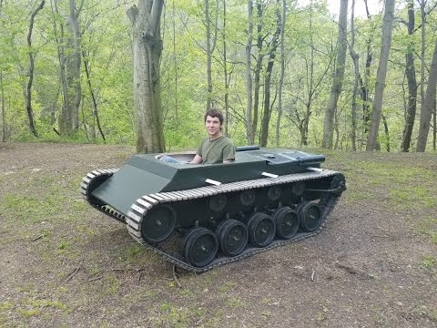Homemade Tank Update #22 (Painting and Assembly +Test Drive)