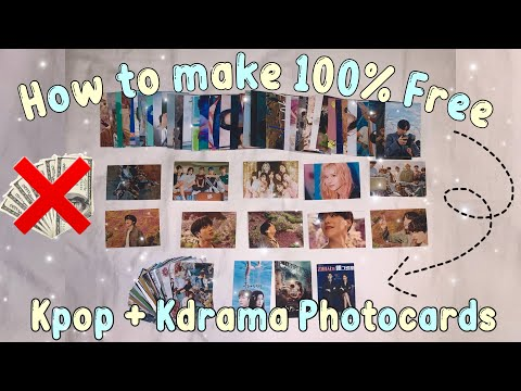 How to make free photocards   plus make easy money 💰