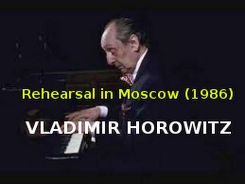Horowitz Horowitz In Moscow