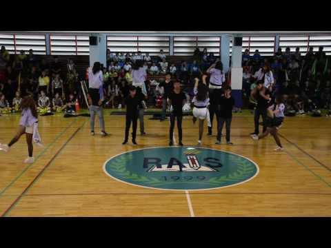 Sports Day 2017 - Blue team (1st winner)