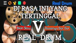 DJ RASA INI YANG TERTINGGAL [PERGI] - SAFIRA INEMA    REAL DRUM COVER