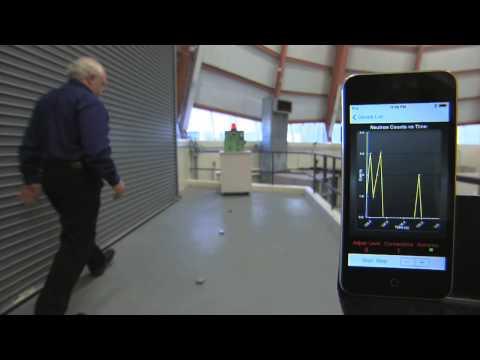 Quadrotor Detector finds Neutron Source