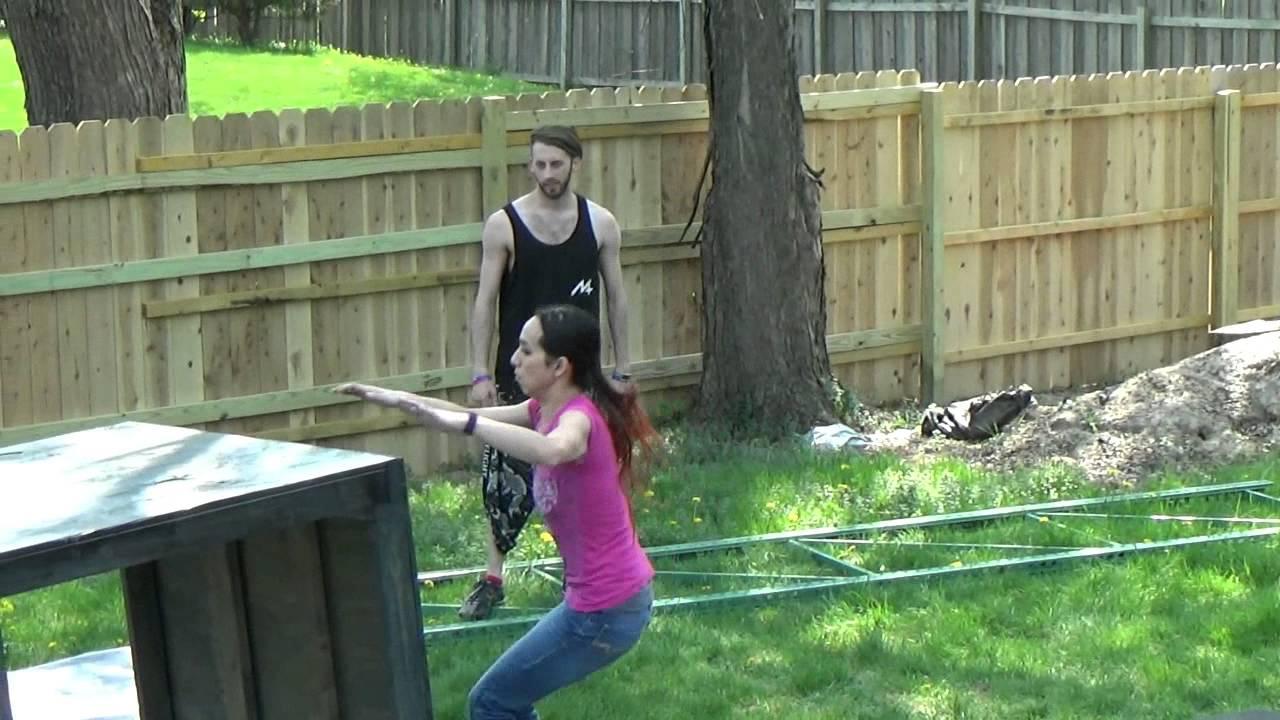 Parkour Lesson & Practice - YouTube